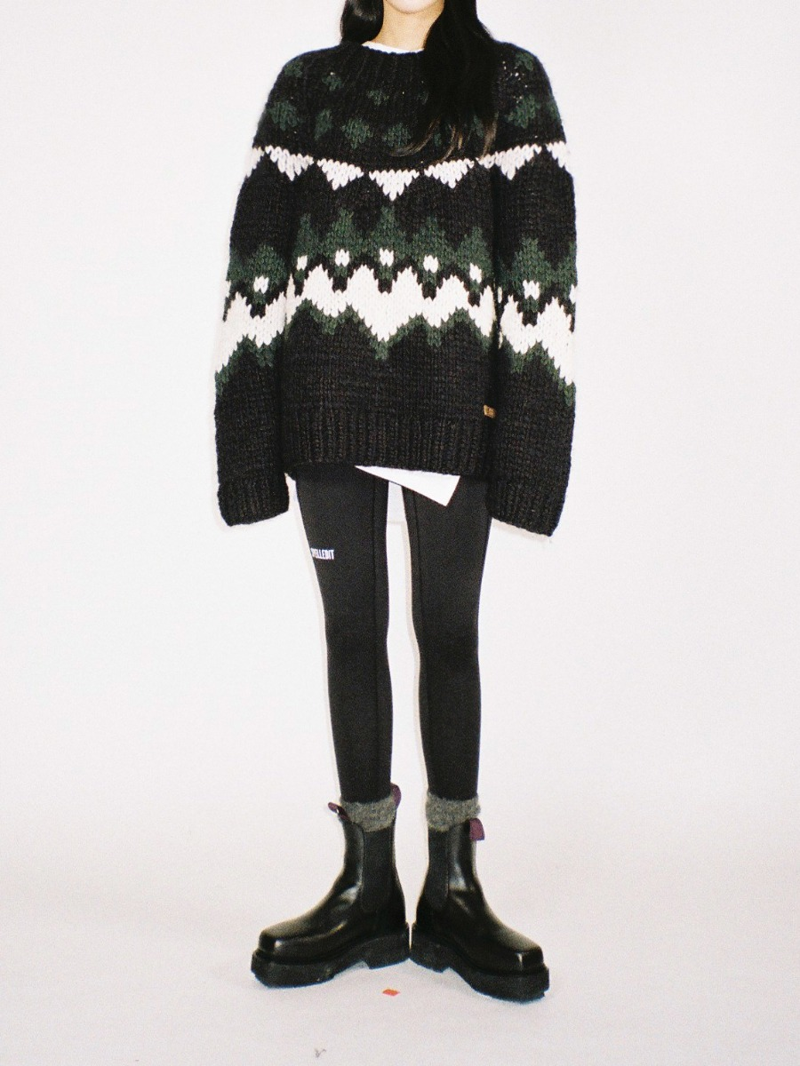 Handmade fair isle sweater