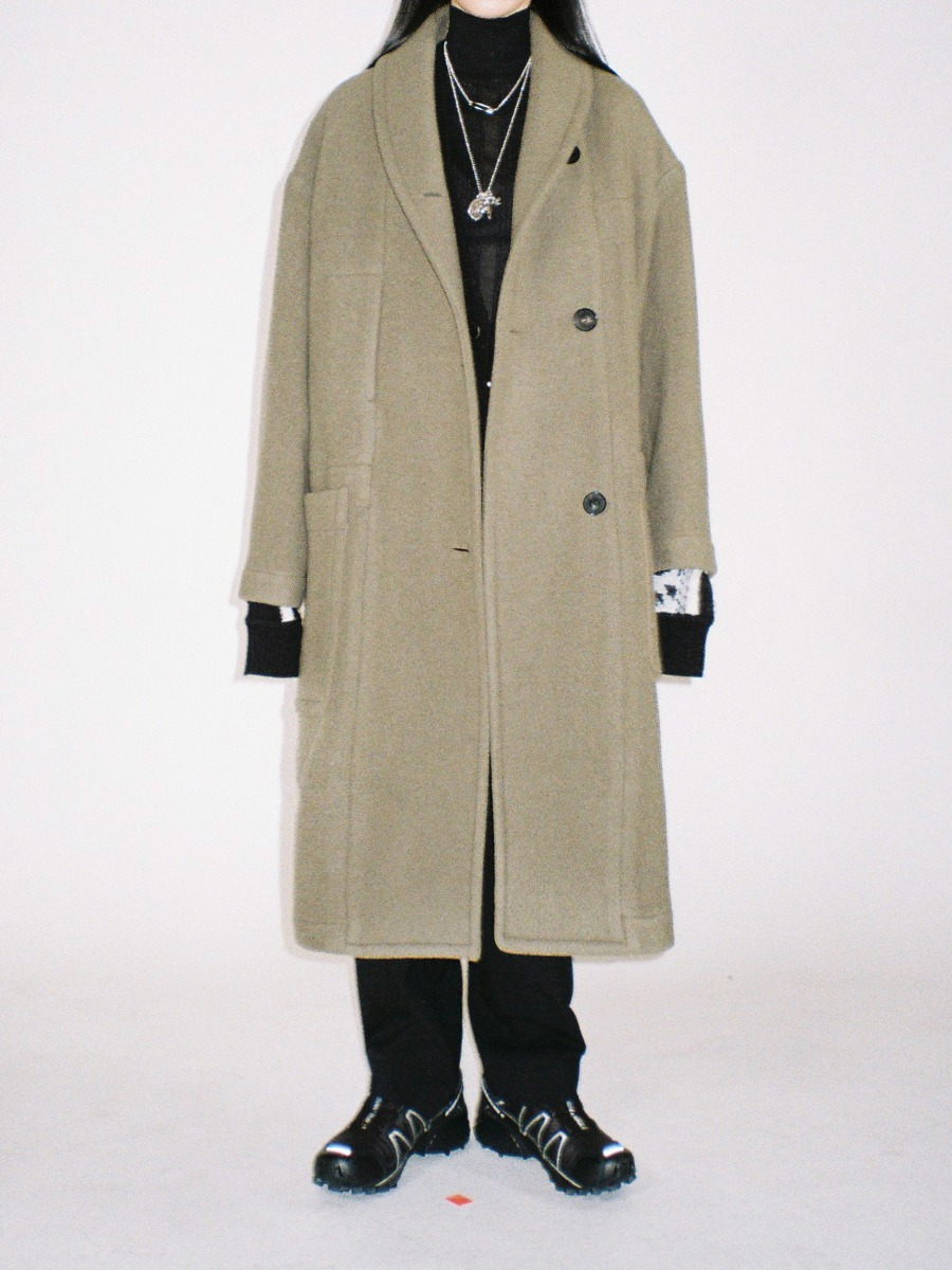 Mannish Oversized Coat