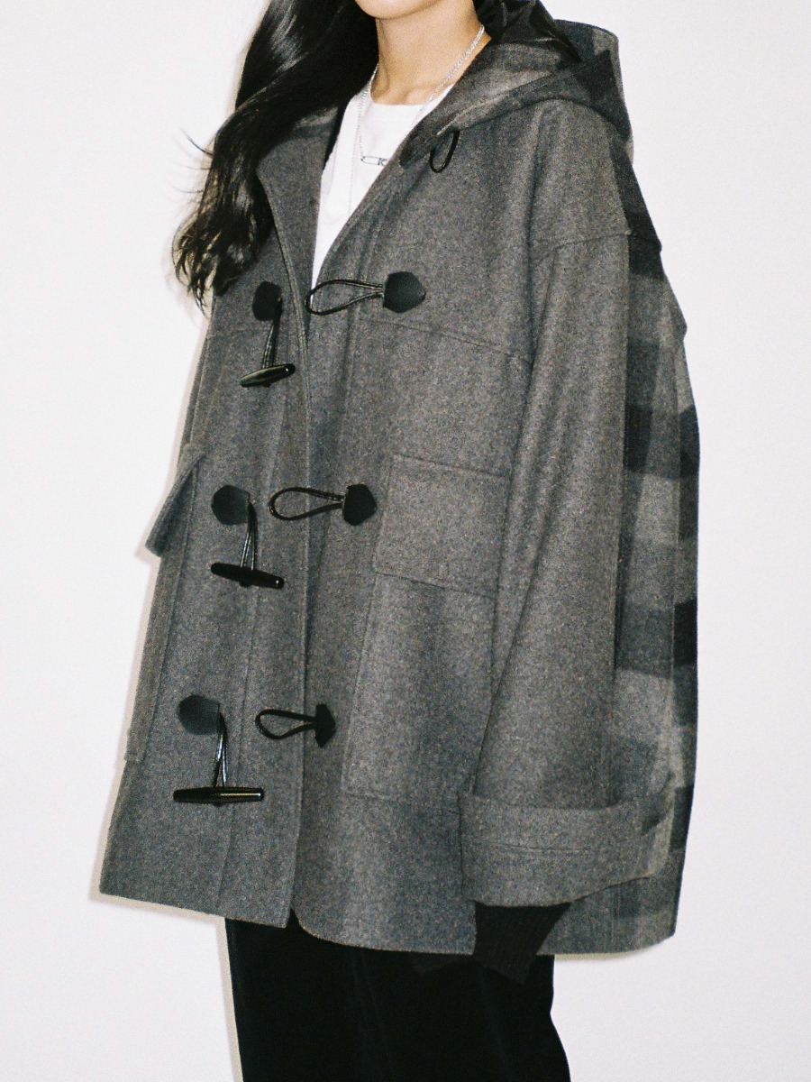 Oversized Duffle Coat
