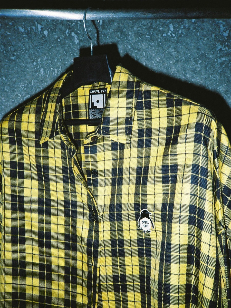 PENGUIN WAPPEN CHECK SHIRT